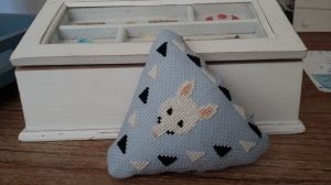 Little pin cushion.