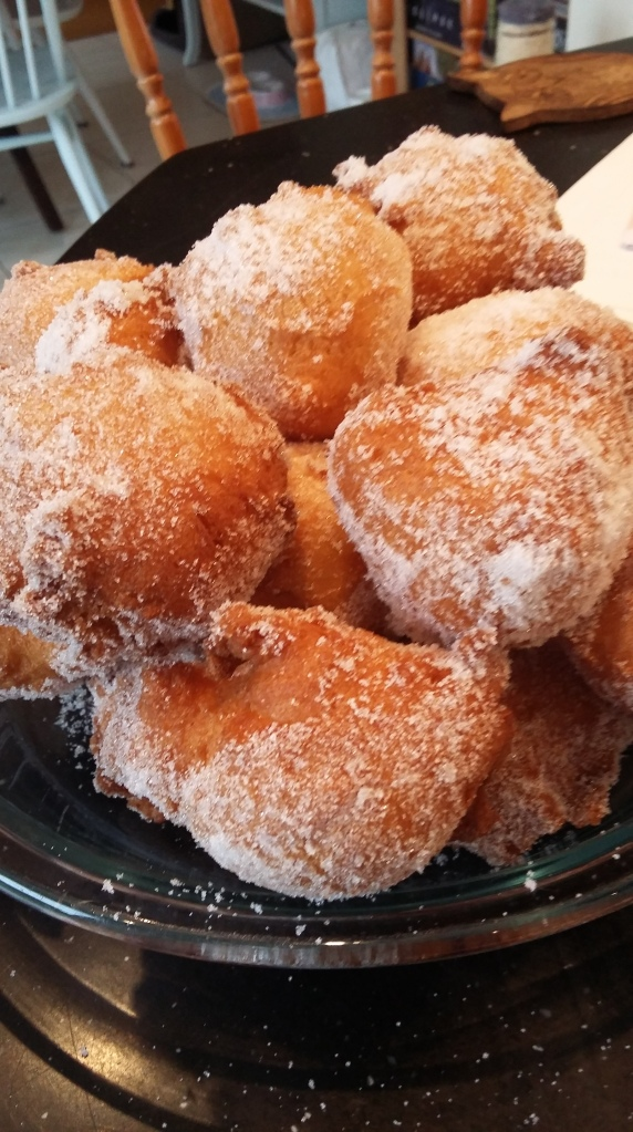 Lovely misshapen doughnut holes